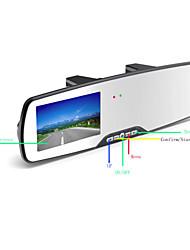 Car Mirrors DVR Camera  2.7 Inch Screen 120 Degree G-sensor black box