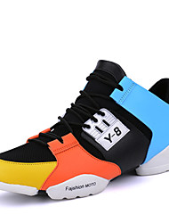 Men's Athletic Shoes Spring Fall Sport Flat Heel Lace-up Running
