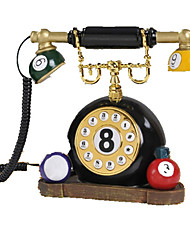 Novelty Creative Home Decor Table Tennis Antique Telephone
