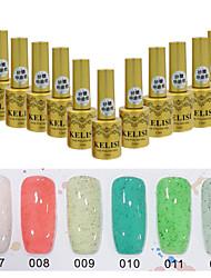 Sugar Gel Nail Polish UV Gel 24 Colors 12 ml Gel Long Lasting Nail Polish Enamel Nail Varnish