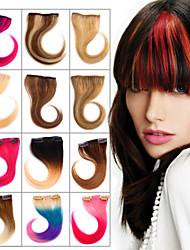 Clip in 100% capello umano botto 12 colori disponibili