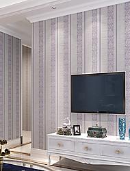 wallpaper arte contemporânea deco 3d listras verticais papel de parede que cobre a arte da parede não-tecido