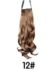 High-temperature Wire Wig Gradient Ponytail  12#