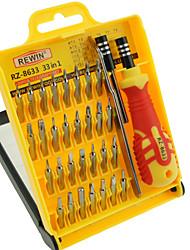 outil de rewin® précision 33pcs tournevis eletronic main set jeu d'outils