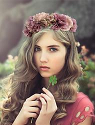 Women's Fabric Headpiece - Wedding/Special Occasion Fashion Wreaths 1 Piece