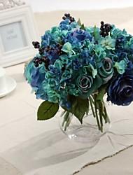 """11.8 """"h hoogwaardige bruiloft decoraties zijden bloemen kunstmatige rozen"""