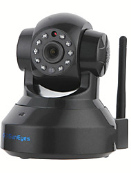 SunEyes SP-TM01EWP ONVIF 720P HD Wireless Wifi Pan/Tilt IP Camera(RTSP,IR Cut,Micro SD Slot,Motion,Audio,P2P, Black)