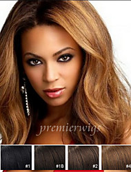 7A Long Natural Wave Chinese Virgin Hair Lace Front Wigs With Baby Hair For Black Women