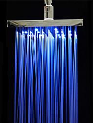 Contemporâneo Chuveiro Tipo Chuva Cromado Característica for  LED / Efeito Chuva / Ecológico , Lavar a cabeça