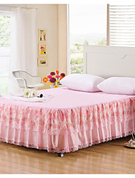 Yuxin®Korean Charm Printing Princess Lace Bed Skirt Bedspread Bed Cover Dust  Bedding Set