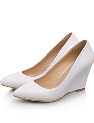 Women's Shoes Wedge Heel Wedges/Round Toe/Closed Toe Pumps/Heels Party & Evening/Dress/Casual