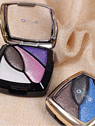 4 Color Baked Eye Shadow Powder (Assorted Color)