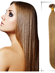 "1Pc/Lot 18""-24"" 0.5g/s Brazilian Virgin Hair Straight Remy Nail /U Tip Hair Tangle Free Weave Rose Hair Products"