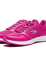 Scarpe Tennis Da donna Tulle / Finta pelle Rosso / Grigio