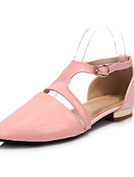Women's Shoes Patent Leather Flat Heel Pointed Toe Flats Dress More Colors available