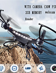 JJRC H8C-2 Quadrocopter 6-Axis Gyro Radio Drones 2.4GHz 30W Pixel Camera Version of The RC Remote Control Helicopter