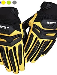 SC Motorcycle/Riding/Bike Drop Resistance Full Finger Gloves Motocross Metal Racing Gloves for Men And Women M/L/XL/XXL