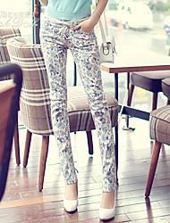 Pink Doll®Women's Casual Print Fashion Skinny Pants