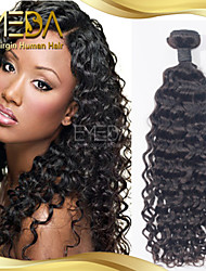 Great Quality Malaysian Virgin Hair Water Wave Human Hair Weaves 1PCS Only Natural Black 8''-30''