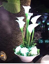 Cherish augmenté ® luxe moderne a mené la lumière décoration lampe de bureau filtre à air chaud fleur de lys mariage des articles salle de