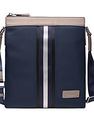paño de Oxford de cuero genuino única maletines de diseño bolso del negocio bolsas solo hombro mensajero originales