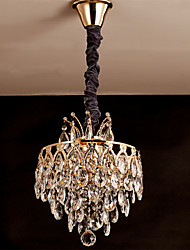 Pendant Lights Crystal Traditional/Classic Living Room/Bedroom/Dining Room/Study Room/Office/Game Room Crystal