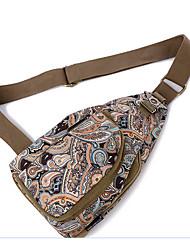donne 's del sacchetto di nylon dell'imbracatura spalla - viola / blu / marrone
