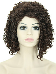 Fashion Women Wigs Short Kinky Curly Synthetic African American Wigs