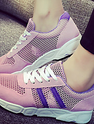 Canvas Lady  Women's Shoes Black/Grey/Pink/White Wedge Heel 0-3cm Fashion Sneakers