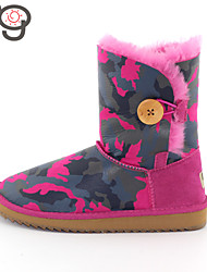 MG Ankle Boots Women Sheepskin Shoes Winter Shoes Snow Boots Keep Warm New Fashion