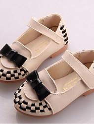 Chaussures bébé - Rose / Beige - Décontracté - Similicuir - Plates