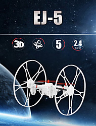 EJB5004 2.4G 4-Axis 5CH 6-Axis Gyro System RC Helicopter Quadcopter Toys Drone With Flying Running Climbing 360 Flip LED