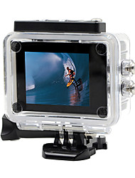Besteye SDV-105 Sports Action Camera 12MP 640 x 480 / 1920 x 1080 WiFi / Waterproof / Tiltable LCD / Anti-Shock 2 CMOS 32 GB H.264 30 M