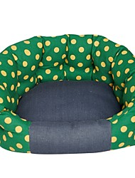New Style dotted Washable Pet Dog Bed Soft Pet Product