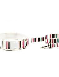 Cat / Dog Collar Blue / Pink Textile / Nylon