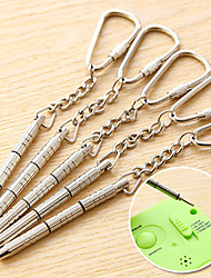 Portable Screwdriver Key Chain Phone Watch Glasses Mini Tool Kit
