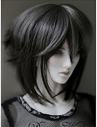 """tita 1/3 8-9 """"dal msd pullip bjd sd STUI cena Dollfie muñeca peluca corta negro"""