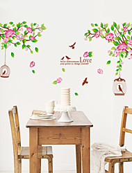 Wall Stickers Wall Decals, Style A Lotus Flower PVC Wall Stickers