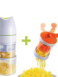 One Key Slicer Electric Deluxe Vegetable Slicer Shredder Dishwasher Safe