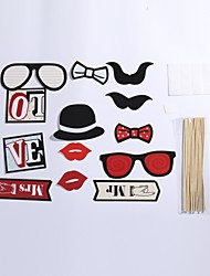 13 Sets Of Interesting Birthday Party Welcome  Wedding Pictures Props Lips