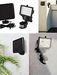 Solar Powered Security Light With 60 Bright LEDS