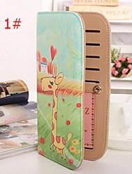Damen - Brieftasche PU - 2 # / 3 # / 4 # / 5 # / 6 # / 7 # / 8 #