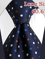 ul24 shlax&lunares ala mens lazos corbata azul marino vestido de traje de seda azul oscuro largo