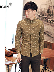 SPCZ® Men's 2015 Fashion Long-sleeved Shirt