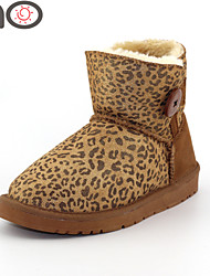 MO Sexy Women Boots Winter 2015 New  Luxury Women Winter Boots One Button Snow Boots Cowhide Leather