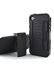 DROP résistance téléphone cas goutte qui suit loricated pour iPhone 4/4