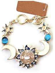 New Arrival Fashional High Quality Sun Moon Gem Bracelet