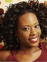 6'' Cheap 7A Natural Color Pic Curl Virgin Brazilian Machine Made Wigs Glueless None Lace Short Wigs For Black Women