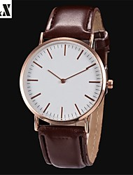 Women's Fashion  Simplicity Water-Proof Quartz Analog  Leather Wrist Watch(Assorted Colors)