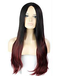 A peruca de moda europeus e americanos tampas de rolar para enrolar gradiente cabelo cor r2-118 #